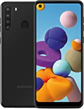 "Samsung Galaxy A21 Factory Unlocked Android Cell Phone, US Version Smartphone, 32GB Storage, Long-Lasting Battery, 6.5"" In..."