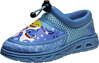 Nickelodeon Boys' Swim Shoes - Baby Shark Non-Slip Quick Dry Water Shoes (Toddler/Little Kid)