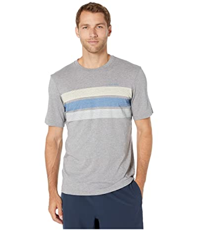 TravisMathew Jet Pack T-Shirt (Heather Grey) Men