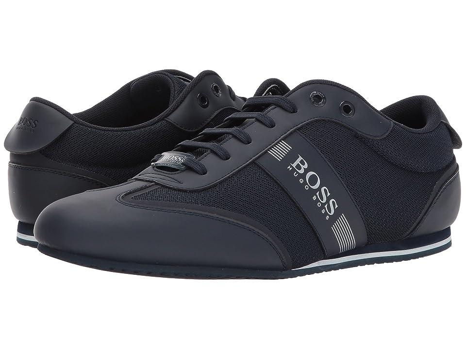 BOSS Hugo Boss Lighter Low Profile Sneaker by BOSS Green (Dark Blue) Men