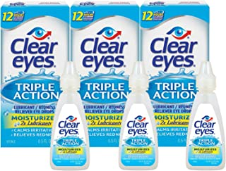 Best clear eyes redness relief contact lenses Reviews