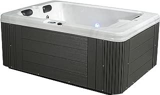 Essential Hot Tubs 24 Jets Devotion Hot Tub, Grey