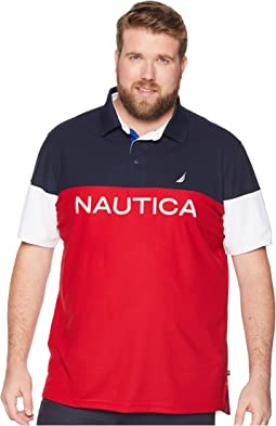 Big & Tall Blocked Polo Shirt