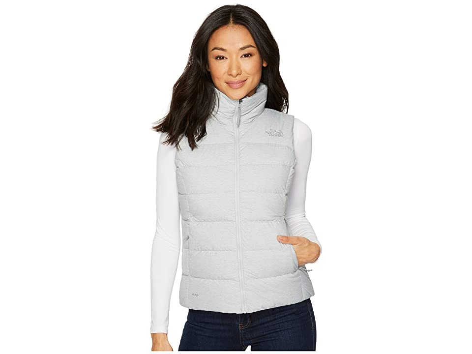 The North Face Nuptse Vest (TNF Light Grey Heather) Women