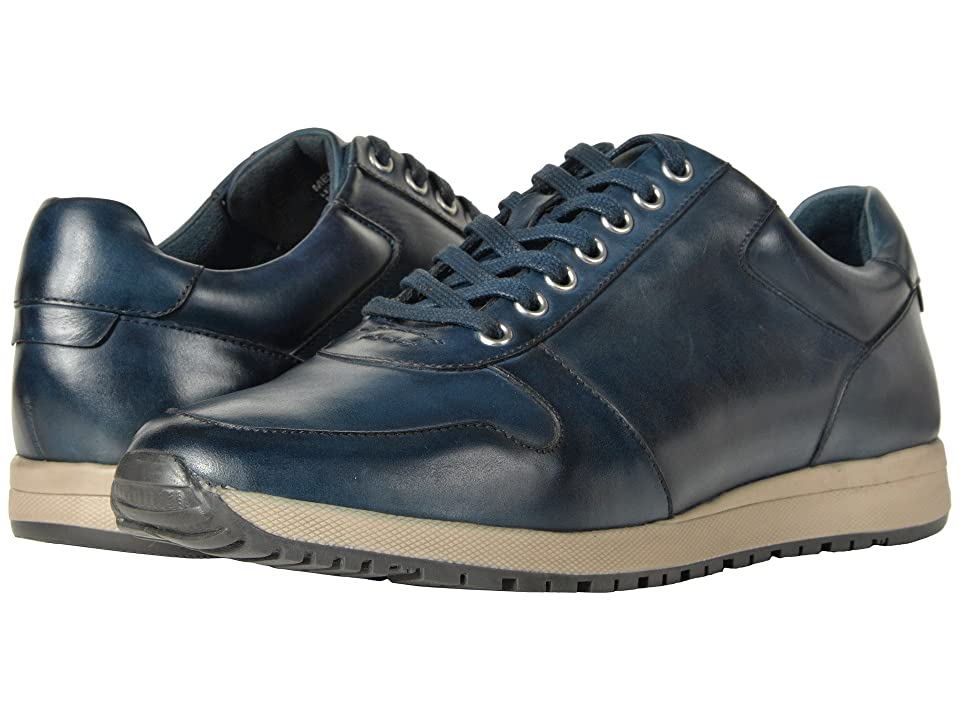 Stacy Adams Axel Retro-Runner Lace Up Sneaker (Navy) Men