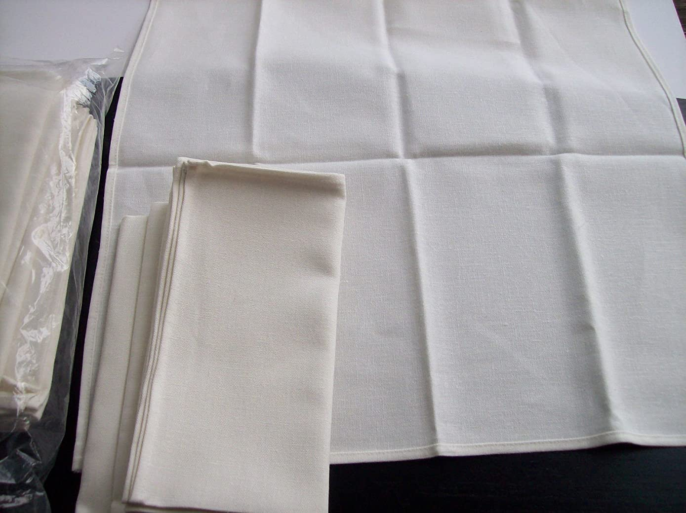 100% Natural dye free PURE Natural Linens Cloth Fine placemats Table Napkins organic Linen fabric