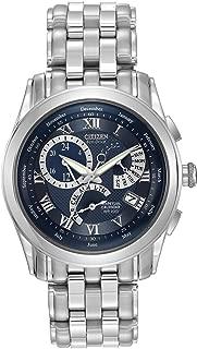 Men's BL8000-54L Eco-Drive Calibre 8700 Stainless Steel Bracelet Watch