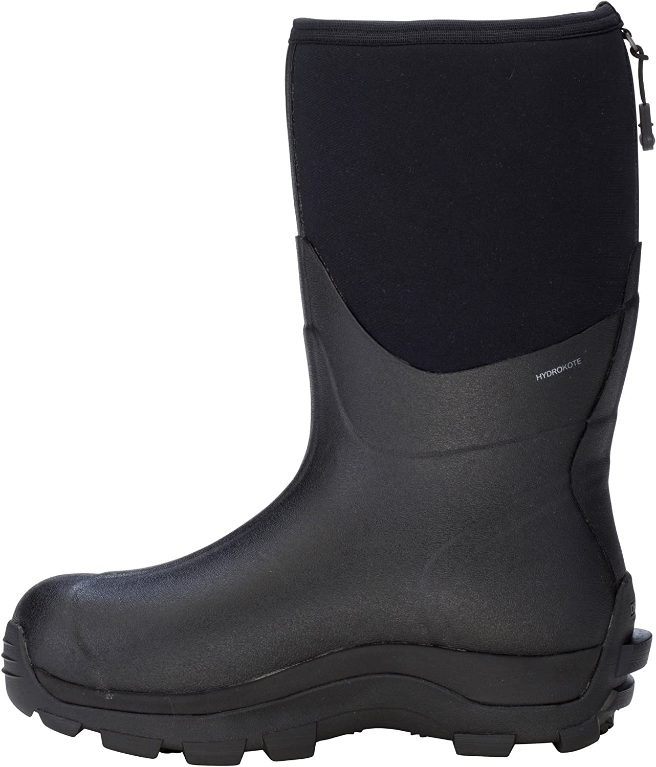 Dryshod Arctic Storm Mid Mens Foam Black Grey Winter Boots