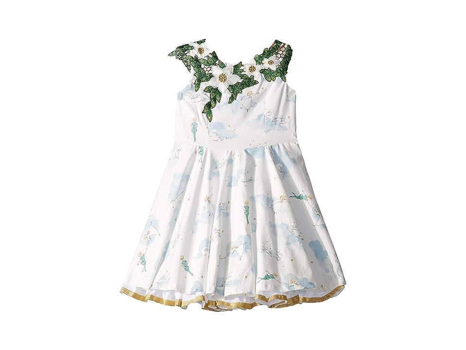 fiveloaves twofish Tigerlily Fashionista Dress (Toddler/Little Kids/Big Kids) (White) Girl