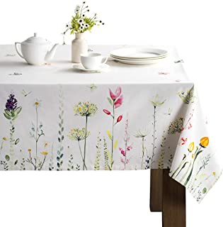 Maison d' Hermine Botanical Fresh 100% Cotton Tablecloth...