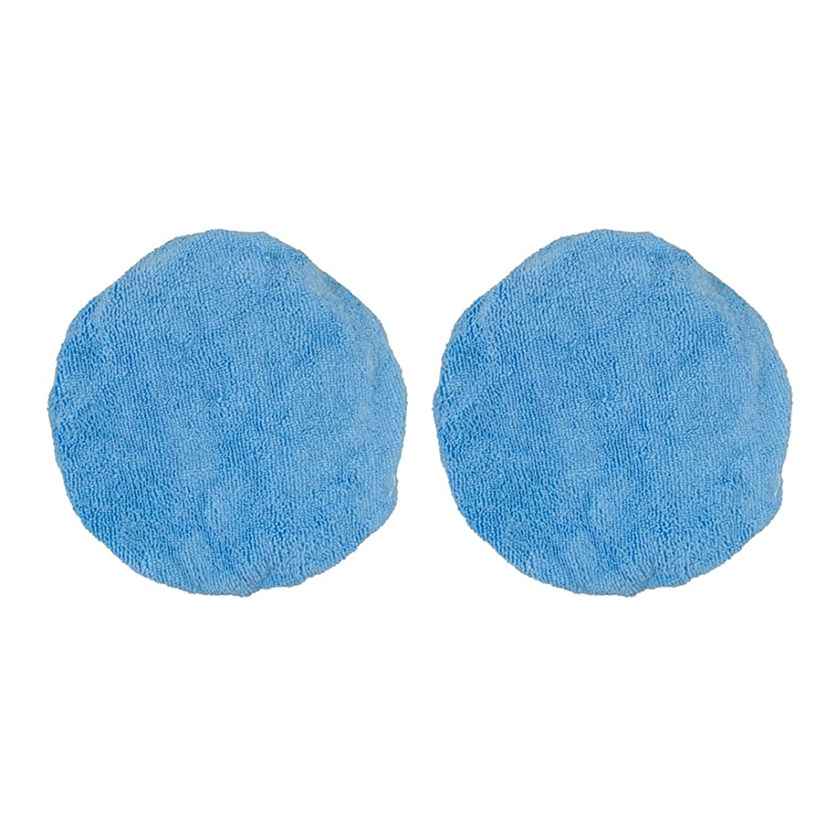 Detailer's Choice 2 Pack 6-3568 2 Pack 5 in. -6 in. Microfiber Bonnets, 2 Pack
