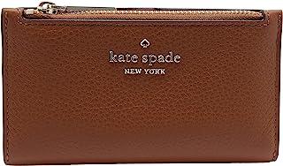 Kate Spade New York Leila Small Slim Portafoglio Bifold Caldo Gingerbread