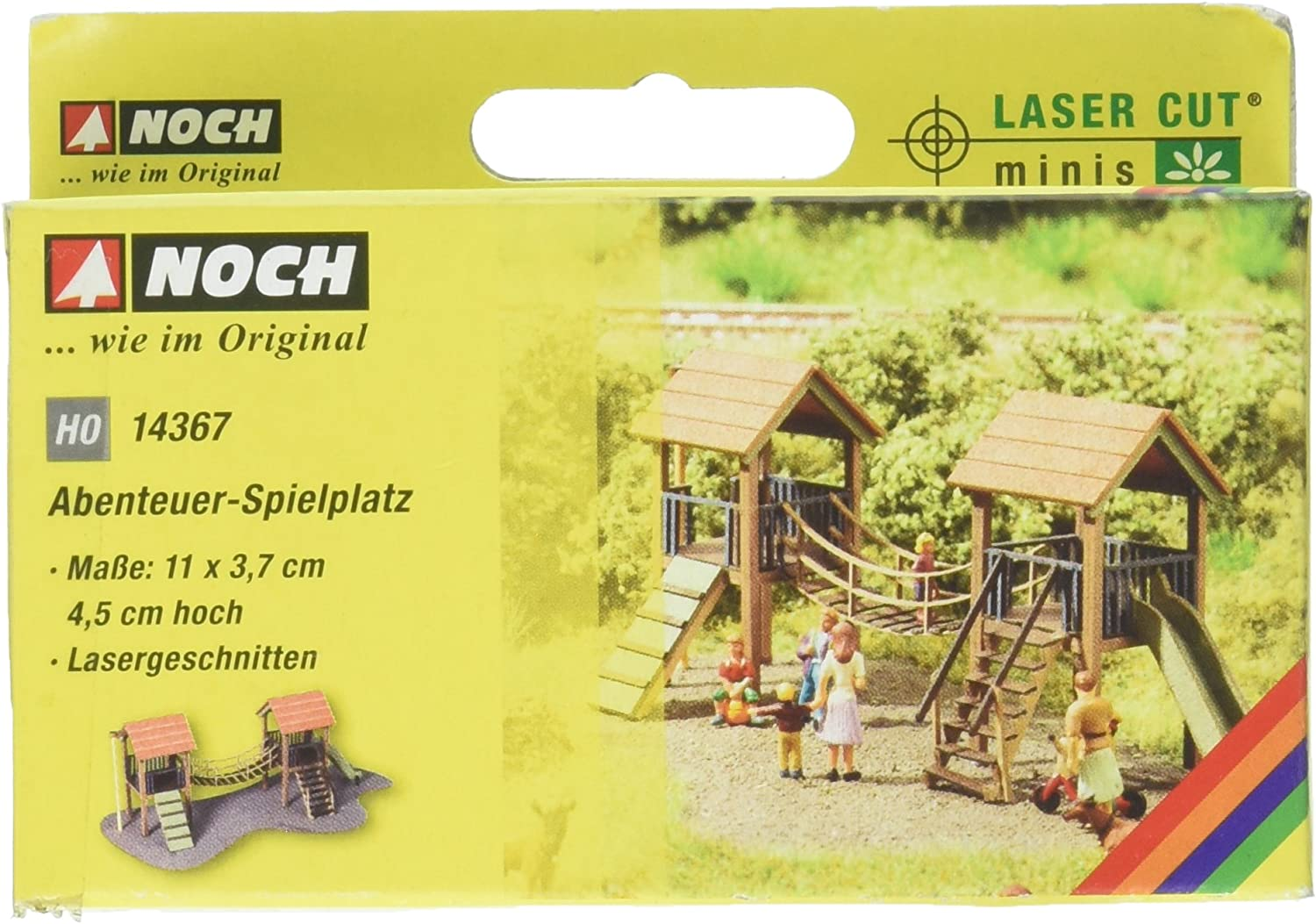 Noch HO Adventure Playground 14367 Brand New
