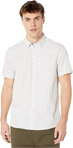 1b87f3146 Ted Baker. Clion Short Sleeve Linen Shirt.  155.00. New. Blue