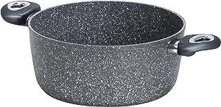 Bialetti Petravera Madame-Olla de Aluminio, Color Gris, Aluminio, Gris, 30 x 20,5 x 39 cm