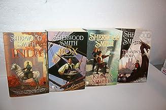 Sherwood Smith's Complete Inda Series Books 1-4 ((1. Inda (2006) 2. The Fox (2007) 3. The King's Shield (2008) 4. Treason'...