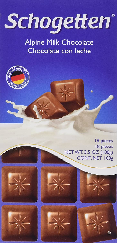 Schogetten service Alpine Milk Cheap SALE Start Chocolate Pack Bars German of