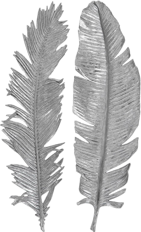 Uttermost Sparrow Silver Leaf 2-Piece Set Milwaukee Oakland Mall Mall Wall Art