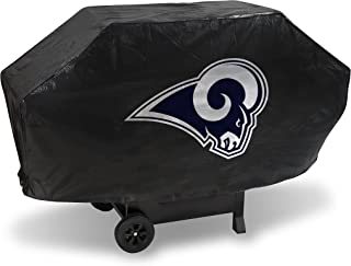 Rico Industries NFL Unisex-Adult NFL Deluxe Vinyl Padded Grill Cover