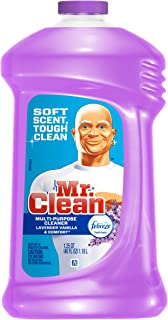 Mr Clean Liquid All Purpose Cleaner with Febreze Lavender Vanilla and Comfort 40 Oz