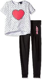 Limited Too Girls' 2 件套法国厚绒布套装(更多款式可供选择)