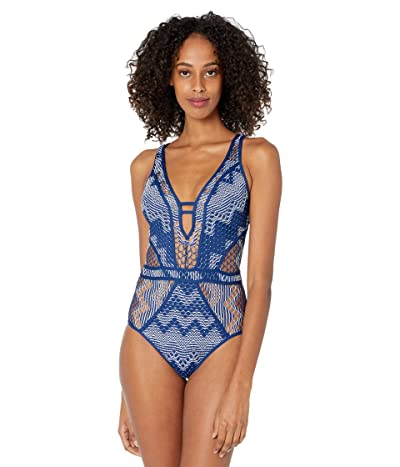 BECCA by Rebecca Virtue Reveal Plunge One-Piece