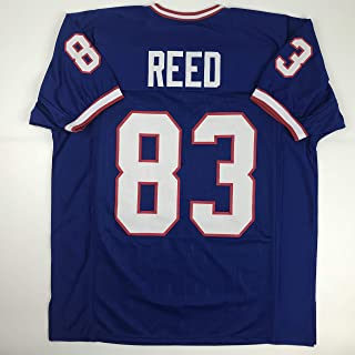 Unsigned Andre Reed Buffalo Blue Custom Stitched Football Jersey Size Men's XL New No Brands/Logos