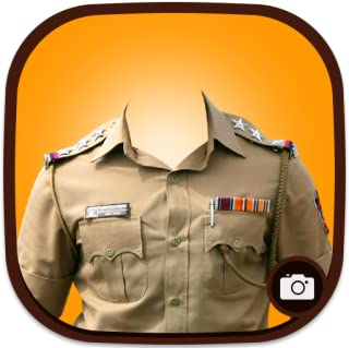 Police Suit Photo Maker(Man)