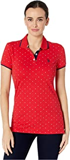 Polo americano Assn. Dot Print Polo