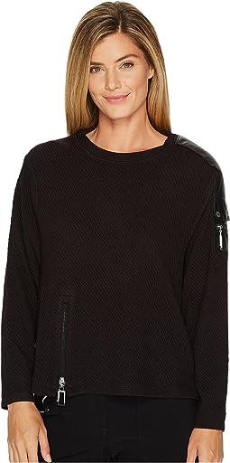 Jamie Sadock - Textured Medium Weight Pullover Outerwear