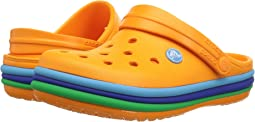 Crocs Kids - Crocband Rainbow Band Clog (Toddler/Little Kid)
