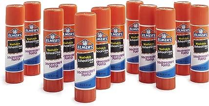 Elmer's Disappearing Purple School Glue, Washable, 12 Pack