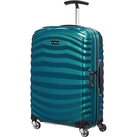 Samsonite Lite Shock Spinner 55 20 Lite Shock Blue Luggage
