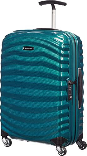 Samsonite Lite-Shock - Spinner S Bagage à Main, 55 cm, 36 L, Bleu (Petrol Blue)