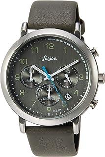 [セイコーウォッチ] 腕時計 アルバ Fusion 70年代 シティミリタリーテイスト クロノグラフ付き グレー文字盤 カーブハードレックス 日常生活用強化防水(10気圧) AFST402 グレー