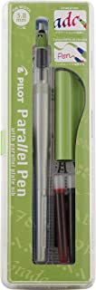 Pilot Parallel Pen 2-Color Calligraphy Pen Set, with Black and Red Ink Cartridges, 3.8mm Nib (90052)