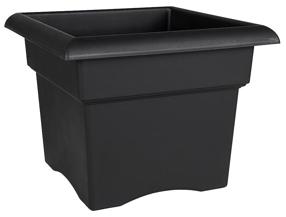 Bloem Fiskars 18 Inch Veranda 5 Gallon Box Planter, Black (57918), 18-Inch,