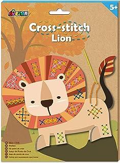 Avenir CH1437 Cross Stitch-Lion, Multi