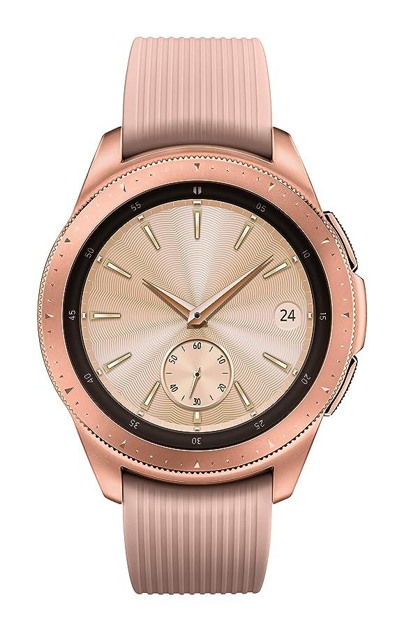 Samsung Galaxy Watch (42mm) Rose Gold (Bluetooth), SM-R810NZDAXAR  – US Version with Warranty