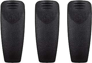 HNN9013 Belt Clip Compatible for Motorola HT750 HT1250 XTS2500 XTS1500 CP125 CP185 PR860 GP140 GP328 GP338 GP340 GP360 GP380 GP640 Two Way Radio HLN9844A HLN9844 (3 Pack)