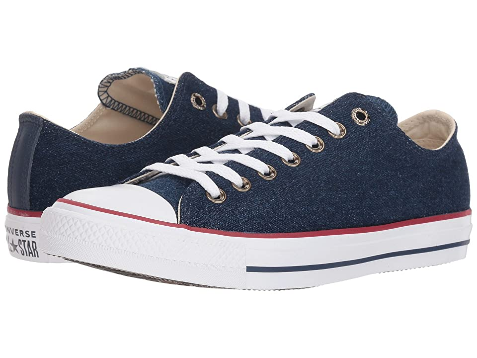 Converse CTAS Ox (Dark Blue/Natural Ivory/White) Classic Shoes