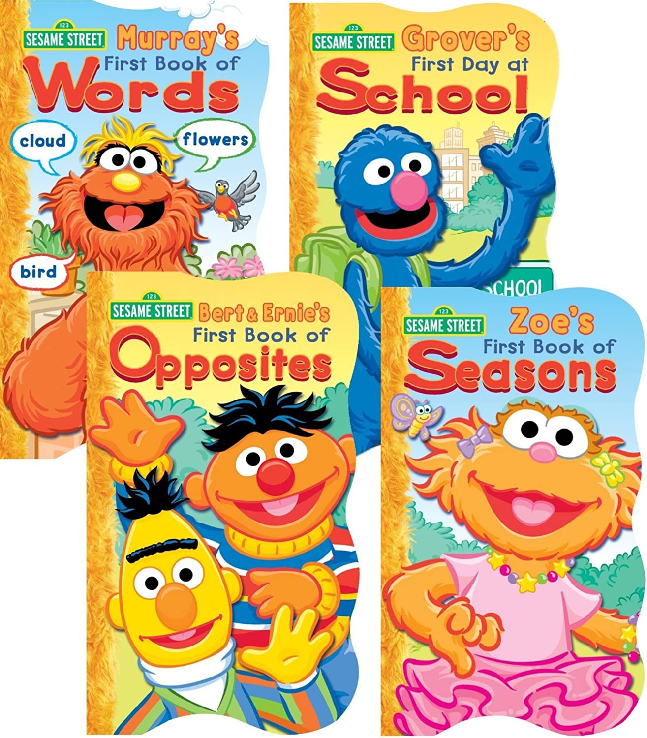 Sesame Street Board Books  Set of Four by Sesame Street