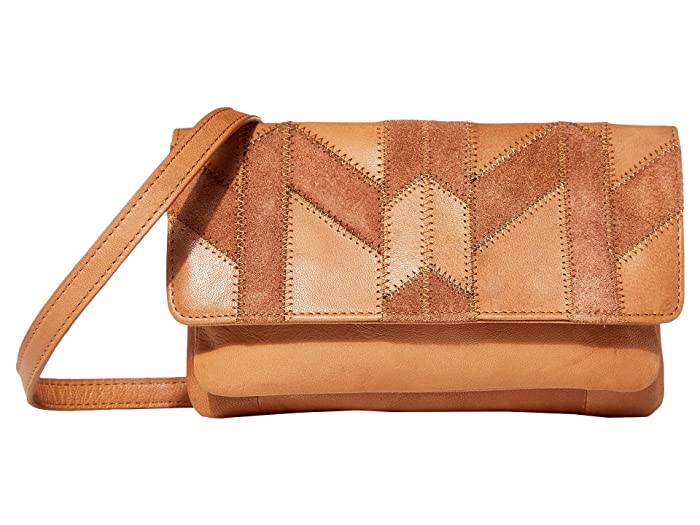 Lucky Brand  Axil Convertible Wallet (New Cognac P) Handbags