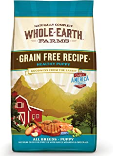 Whole Earth Farms Grain Free, Natural Dry Puppy Food