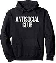 Antisocial Social Club Member Cool Introvert Gift Hoodie