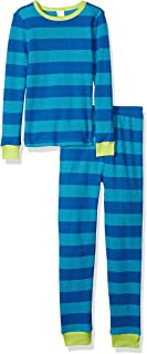 Gymboree Boys' Big 2-Piece Tight Fit Thermal Sleeve Long Bottoms Pajama