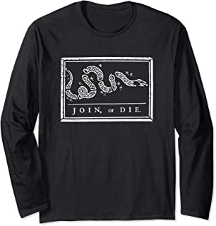Join or Die - Long Sleeve T-Shirt