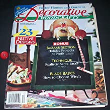 Better Homes and Gardens Decorative WOODCRAFTS December 1998 Issue 44 (Vol. 8, No.6)