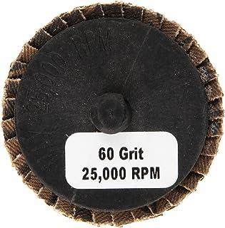 Shark 73753    2-Inch Aluminum Rolock Mini Flap Disc, Grit-60, 5-Pack