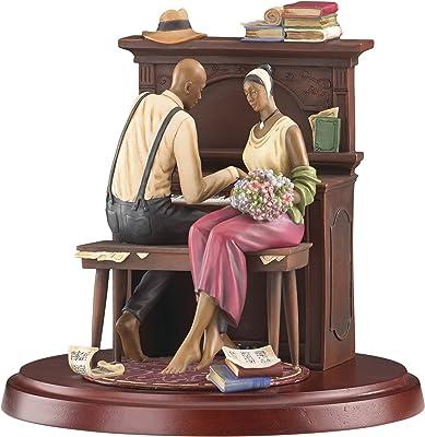 Lenox John Holyfield's Ebony Visions Serenade Limited Edition Figurine